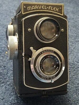 Vintage Marvel-Flex Twin Lens Camera - Alphax Wollensak Rochester USA