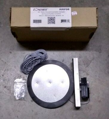 """ZoneFirst 08"""" Retro-Round Insertable Damper W/Plug &Play Motor Connections RRP08"""