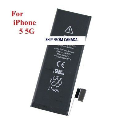 New 1440mAh Internal Replacement 3.8V Li-ion Battery For iPhone 5 5G