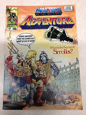 Masters Of The Universe Adventure Magazine Issue No.17 Vintage 1989