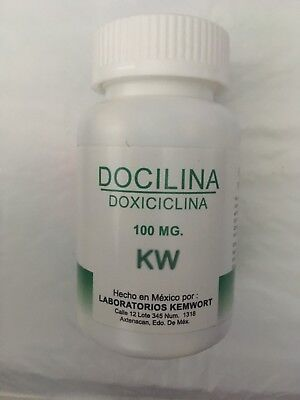 Doxycycline Capsules 100 Mg - 100 Count - Compare to Fish Doxy