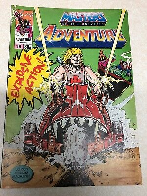 Masters Of The Universe Adventure Magazine Issue No.18 Vintage 1989