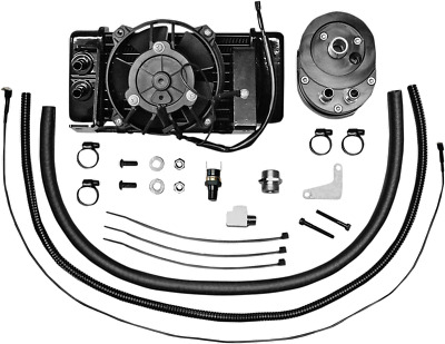 Horizontal Low-Mount 10 Row Fan-Assisted Oil Cooler Kit 751-FP2400