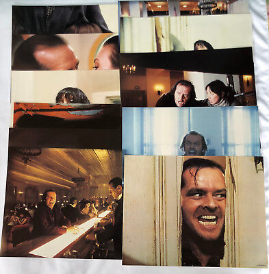 The Shining Complete Set Of 8 Lobby Cards!!! Original Issue From Studio! 15X20!