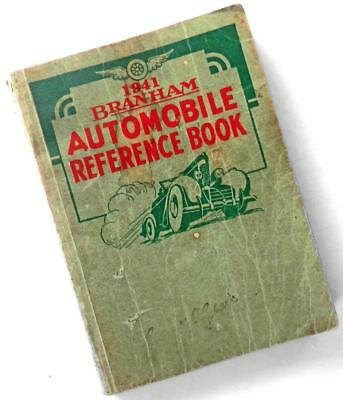 1941 Branham AUTOMOBILE REFERENCE BOOK—Serial Numbers, State Traffic Laws