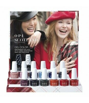 "Opi Gelcolor  "" Nouvelle Collection Scotland 2019 "" 15 Ml /Gel Polish"