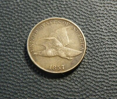 1857 Flying Eagle Cent  Nice!