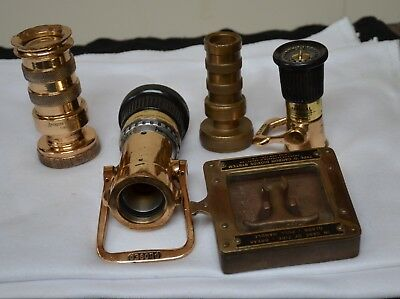 American Lafrance & Akron Imperial Brass Firetruck Nozzles