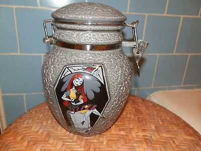 Nightmare Before Christmas Canister SALLY DEADLY NIGHT SHADE Jar (small chip)