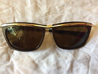 Ray Ban Limited Edition Olympian, Made In USA, Bausch & Lomb, vintage, original