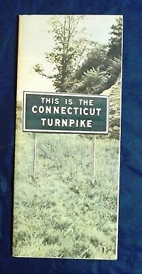 This is the Connecticut Turnpike Brochure
