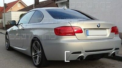 BMW 3 Series E92 E93 Rear Bumper Diffuser Performance 335d/335i M-Sport -GB-