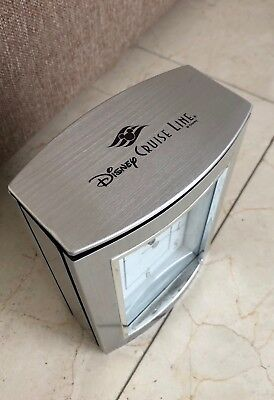Disney Cast Member Exclusibe Disney Cruise Line Desk Clock Award by Bulova