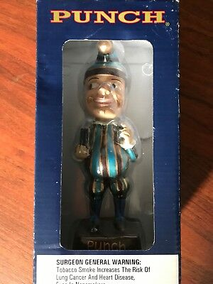 """Mr Punch Bobblehead Cigar Promotion Classic New in Box General Cigar Co 7.5"""""""