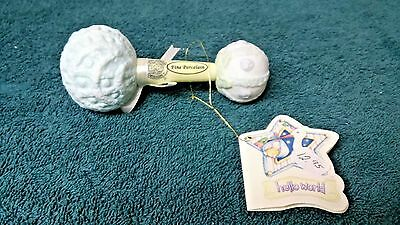 Baby rattle (porcelain) by AppleTree Design for Hello World made in China