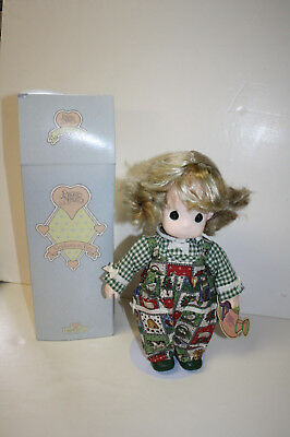 Precious Moments Plastic Doll Sunny September #1463 1st Edition Garden of Friend