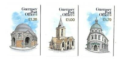 Guernsey - 3 Booklets - Views - 1984