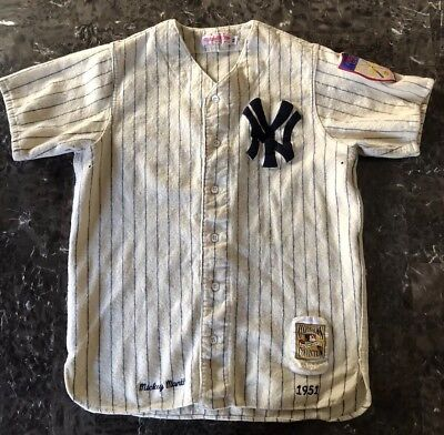 quite nice 480f9 eee30 MICKEY MANTLE NEW York Yankees Vintage 1951