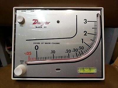 Dwyer Mark II Model 25 Manometer