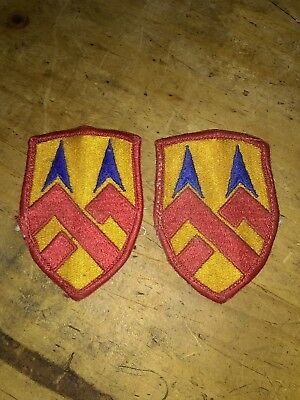 377th Support Brigade Shoulder Patch US Army Full Color Version