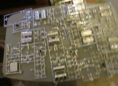 Revell And Other Lots Of Chrome Parts For 1/25 Scale Trucks Check Photos +