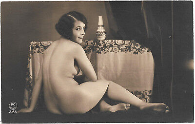 French Nude-Postcard Real Photo  original 1920s a20