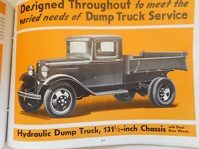 1933/4 FORD DEALERS SHOWROOM BOOK Trucks & Commercial Cars