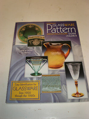 Florence's Glassware Pattern Identification Guide Vol Iii - Nice Big Guide