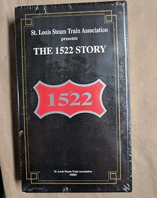 St. Louis Steam Train Assoc. The 1522 Story VHS NEW 1992