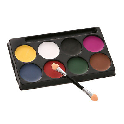8 Color Face Paints Stage Make Up Cosmetic Fancy Dress Body Paints Halloween