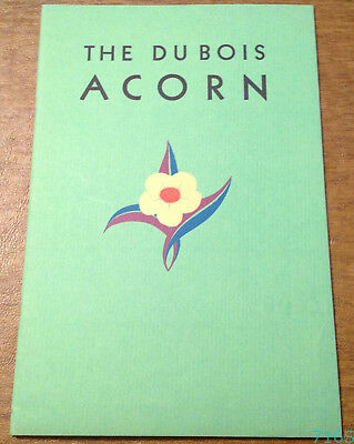 c1930s DuBois Press Rochester NY Acorn Printing Typography Advertising Booklet