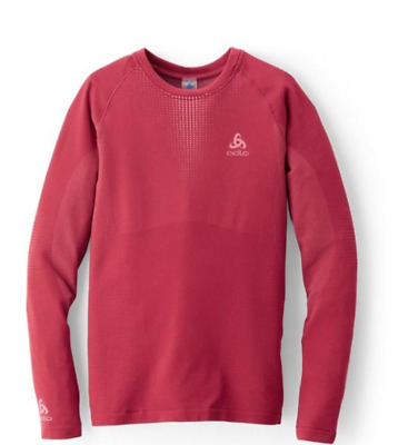 NEW ODLO PERFORMANCE Warm Crewneck Top, Women's NWT $29.99