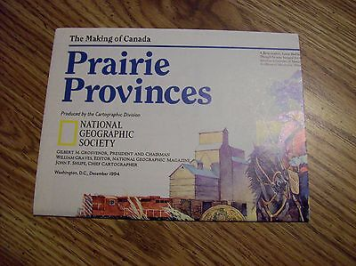 Canada: Making of Canada Prairie Provinces  Dec 1994 By National Geographic