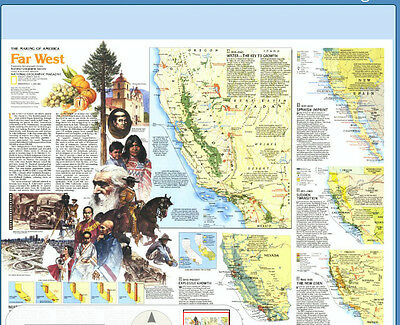 Making of America Far West April 1984  By National Geographic