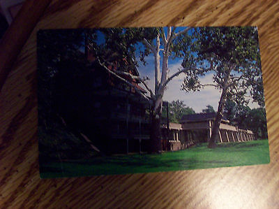 Margret R. Grundy Memorial Library and Museum Bristol PA Postcard