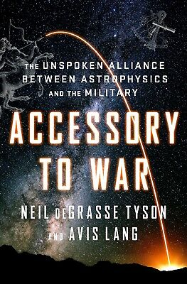 "NEIL DEGRASSE TYSON (Astrophysicst) signed ""Accessory To War"" Book ~ Proof pic!"