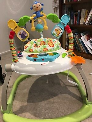 Fisher- Price Colourful Carnival SpaceSaver Jumperoo
