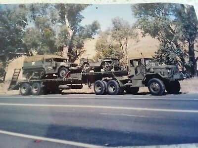 Army prime mover tractor military trailer ww2