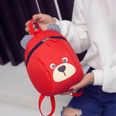 Toddler Outpoor Shoulder Baby Backpack Bag Kids Safety Harness Bear Rucksack