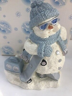 Snow Buddies SLICK Candle Holder figure By Encore *RARE*  #8527594669 ~NEW