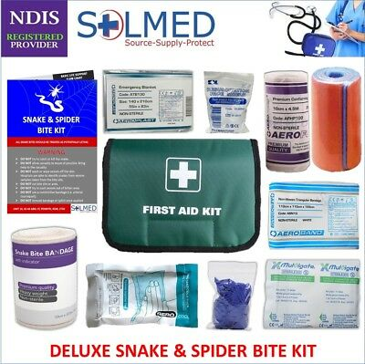 Deluxe Snake and Spider Bite Kit (2 in 1) Tension Indicator Bandage and Splint