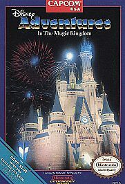 Disney Adventures in the Magic Kingdom (Nintendo Entertainment System)-Cart Only