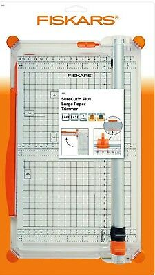 Fiskars SureCut Plus Large Paper Trimmer 4560-1  Office School Desk Accessory