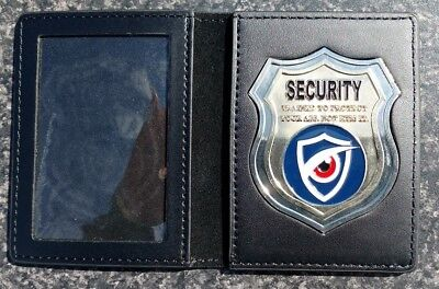 Security Badge & Id Wallet (Not Police) Trained To Protect Your Ass Not Kiss It