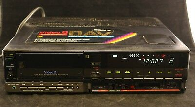 Sony EV-S700U Video 8 8MM Video Tape VCR Player -Watch Old Home Movies