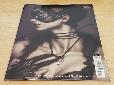 """Catwoman #4 Stanley """"Artgerm"""" Lau Variant  Cover NM / NEW"""
