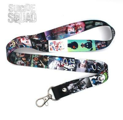 Suicide Squad Harley Quinn Cell Phone Rope Chain Strap Clip Lanyard Keychain