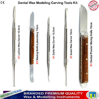 5pcs Dental Laboratory Wax Carving Mixing Knife Waxing Carvers Spatulas Online