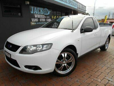 2008 Ford Falcon FG (LPG) White Automatic 4sp A Utility