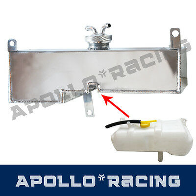 For Nissan Patrol or Ford Maverick Aluminum Overflow Expansion Tank 1988-1997